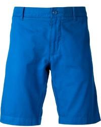 Pantalones cortos azules de Lacoste