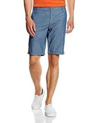 Pantalones cortos azules de MEXX