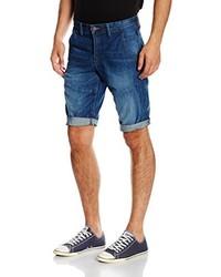 Pantalones cortos azules de Solid