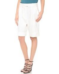 Pantalones cortos blancos de 3.1 Phillip Lim