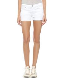 Pantalones cortos blancos de 7 For All Mankind