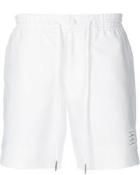 Pantalones cortos blancos de Thom Browne