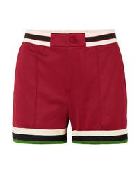 Pantalones cortos burdeos de Gucci
