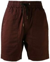Pantalones cortos burdeos de Zanerobe