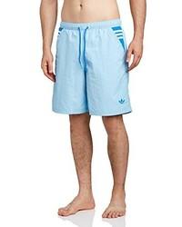 Pantalones cortos celestes de adidas