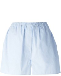Pantalones cortos celestes de Jil Sander