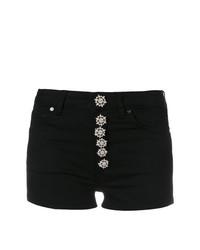 Pantalones cortos con adornos negros de Dondup