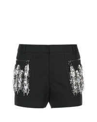 Pantalones cortos con adornos negros de Thomas Wylde