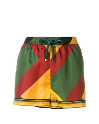 Pantalones cortos con estampado geométrico en multicolor de F.R.S For Restless Sleepers