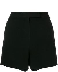 Pantalones cortos con tachuelas negros de Elie Saab