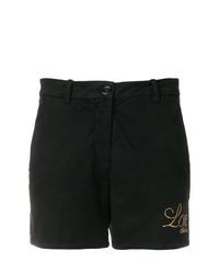 Pantalones cortos con tachuelas negros de Love Moschino