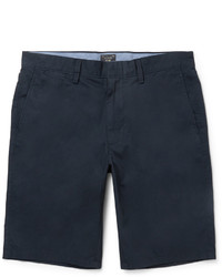 Pantalones cortos de algodón azul marino de J.Crew