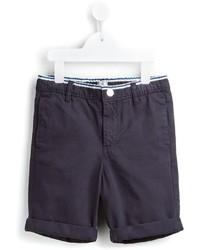 Pantalones cortos de algodón azul marino de No Added Sugar