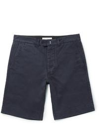 Pantalones cortos de algodón azul marino de Officine Generale