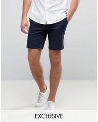 Pantalones cortos de algodón azul marino de ONLY & SONS