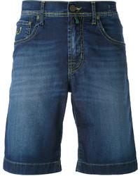 Pantalones cortos de algodón azules de Jacob Cohen