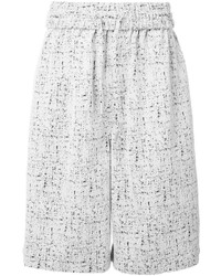 Pantalones cortos de algodón blancos de Off-White