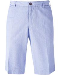 Pantalones cortos de algodón celestes de Canali