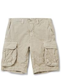 Pantalones Cortos de Algodón en Beige de Incotex