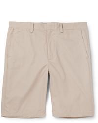 Pantalones cortos de algodón en beige de J.Crew