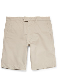 Pantalones cortos de algodón en beige de Officine Generale