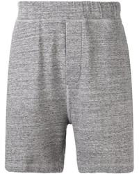 Pantalones Cortos de Algodón Grises de DSQUARED2