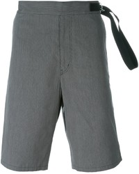 Pantalones Cortos de Algodón Grises de Jil Sander