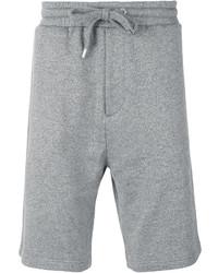 Pantalones cortos de algodón grises de Kenzo