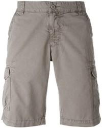 Pantalones Cortos de Algodón Grises de Woolrich