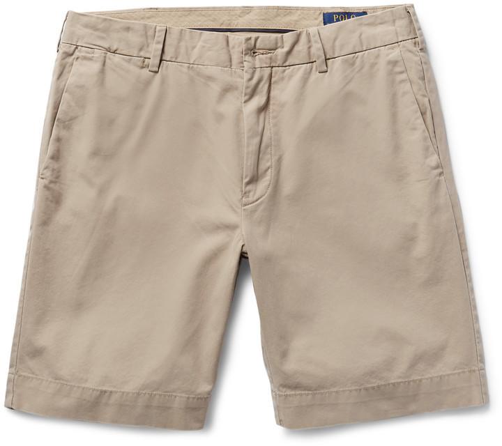 Pantalones Cortos De Algodon Marron Claro De Polo Ralph Lauren 82 Mr Porter Lookastic Espana