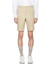 Pantalones Cortos de Algodón Marrón Claro de Thom Browne