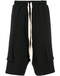 Pantalones Cortos de Algodón Negros de Alchemy