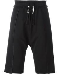 Pantalones Cortos de Algodón Negros de Damir Doma