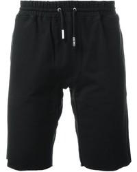 Pantalones Cortos de Algodón Negros de Eleventy