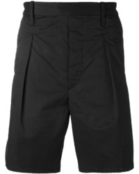 Pantalones Cortos de Algodón Negros de Lemaire