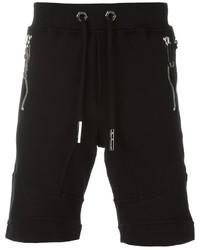 Pantalones Cortos de Algodón Negros de Philipp Plein