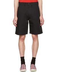 Pantalones cortos de algodón negros de Stella McCartney