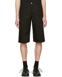 Pantalones cortos de algodón negros de Telfar