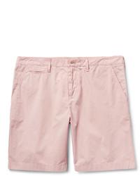 Pantalones Cortos de Algodón Rosados de Burberry