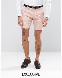 Pantalones cortos de algodón rosados de ONLY & SONS