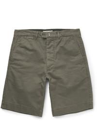 Pantalones cortos de algodón verde oliva de Officine Generale