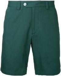 Pantalones Cortos de Algodón Verdes de Kent & Curwen