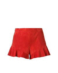 Pantalones cortos de ante rojos de Drome