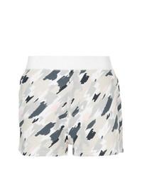Pantalones cortos de camuflaje blancos de Loveless