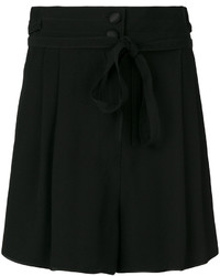 Pantalones cortos de encaje negros de Marc Jacobs