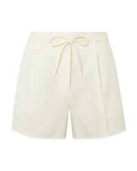 Pantalones cortos de lana en beige de Jil Sander