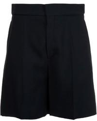 Pantalones cortos de lana negros de Chloé
