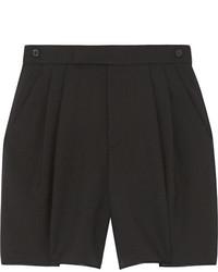 Pantalones cortos de lana negros de Marc Jacobs