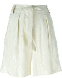 Pantalones cortos de lino en beige de Etro
