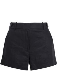 Pantalones Cortos de Lino Negros de J.Crew
